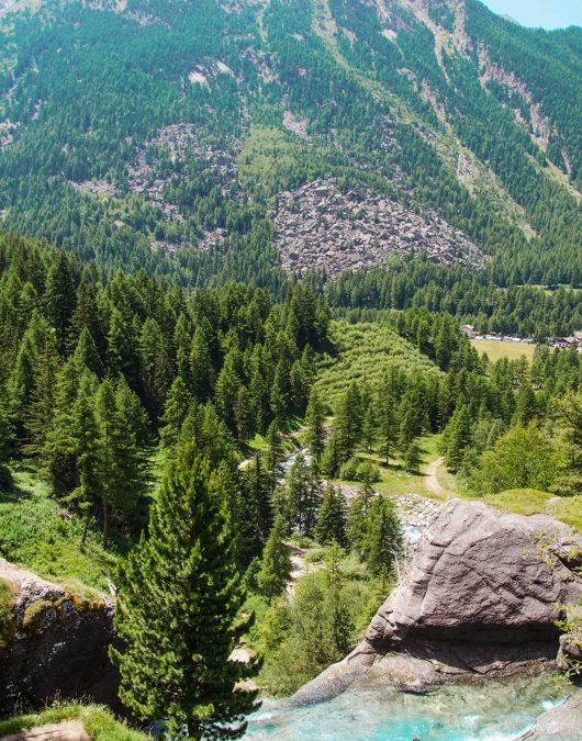Into the wild: Lillaz Waterfalls and Vertiginous Alps