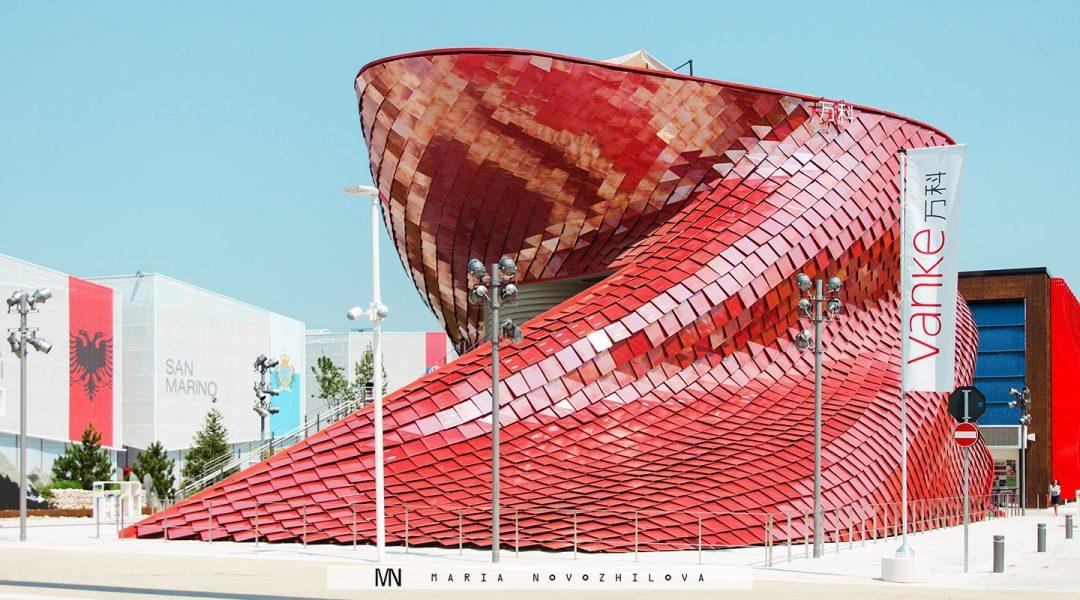 Best of Expo 2015: Red Vanke Dragon Pavilion