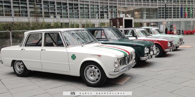 Giulietta Alfa Romeo: from Beijing to Paris