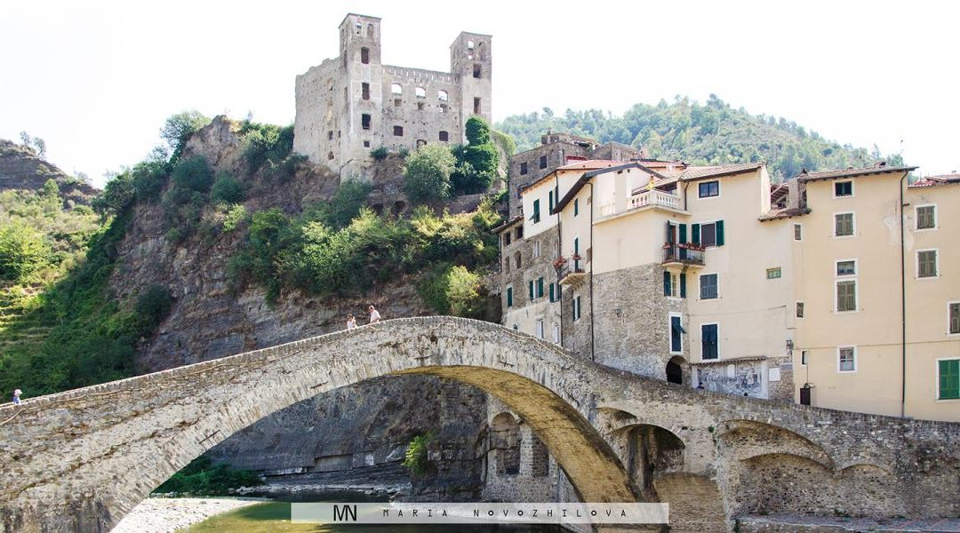 The 1000 year old Castle of Dolceaqua