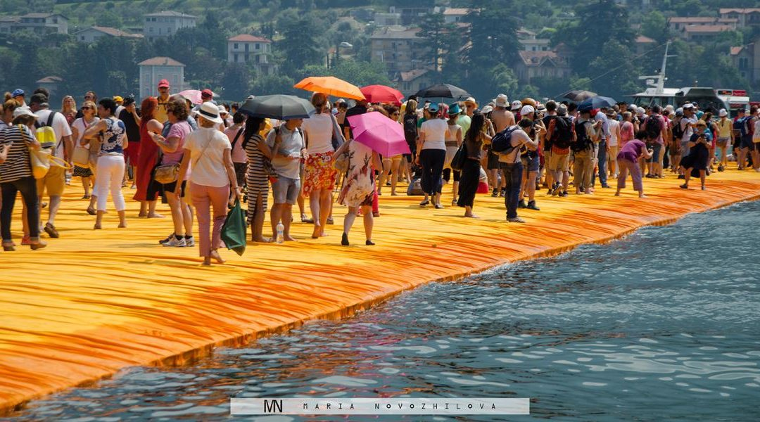 Floating Piers by Christo: Italy's Main Travel Destination of 2016