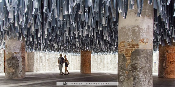 One Hundred Tons of Waste for the Venice Biennale