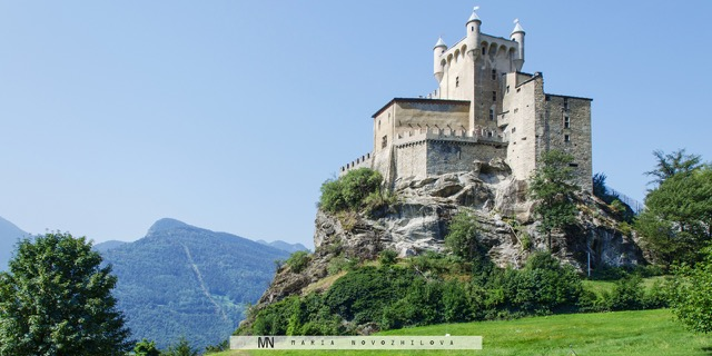 A Fairy Tale Castle in the Aosta Valley