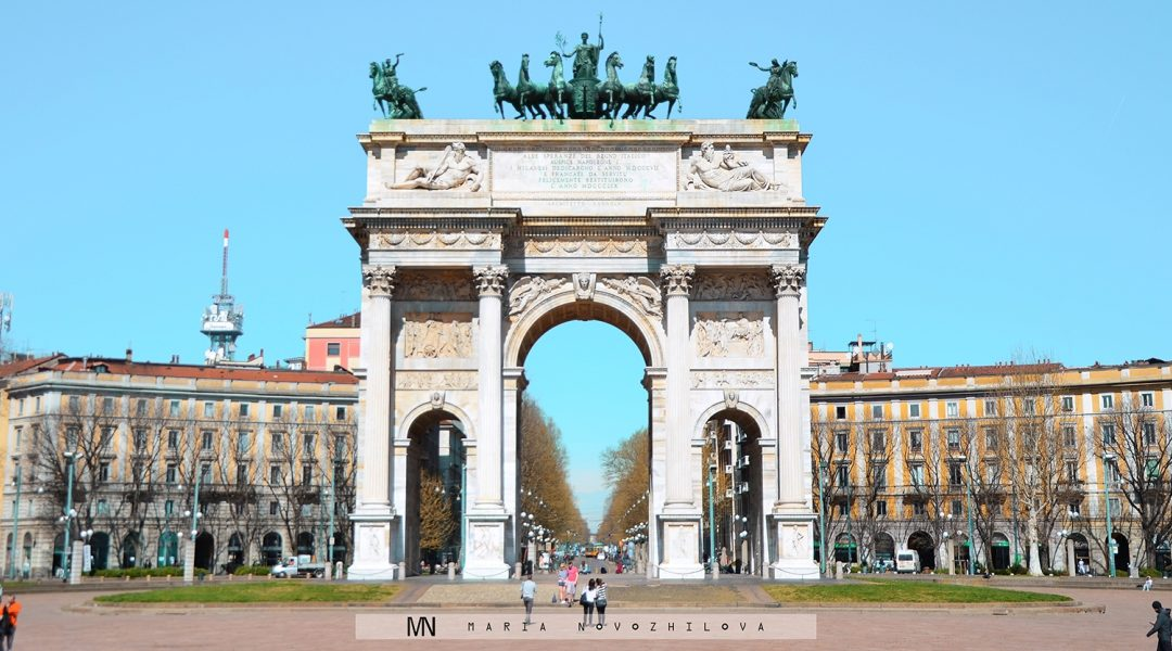 Arco della Pace: French heritage in the heart of Milan
