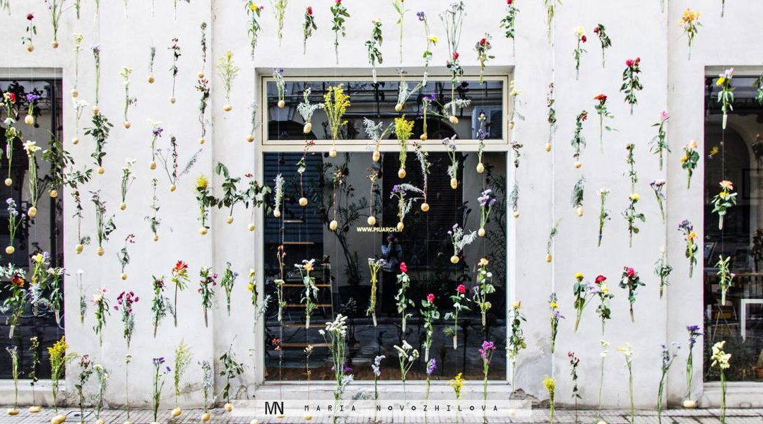 2000 Living Flowers Clad a Building in Milan