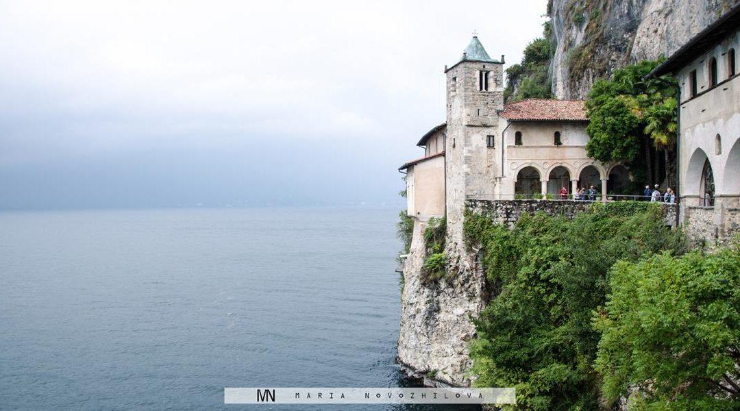 Hidden in a rock: Hermitage of Santa Caterina del Sasso
