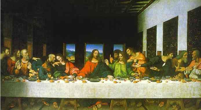 "Leonardo Da Vinci's ""The Last Supper"" in Milan"