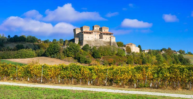 Food and Castles in Emilia Romagna