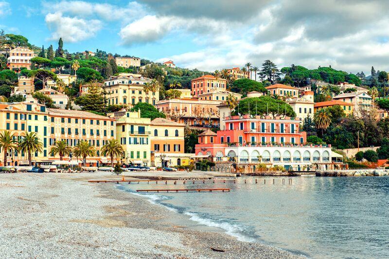 Liguria: On a Rock Alone