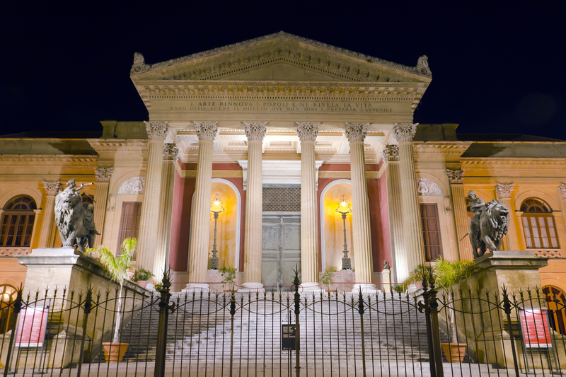 Teatro Massimo Palermo Opera Theater