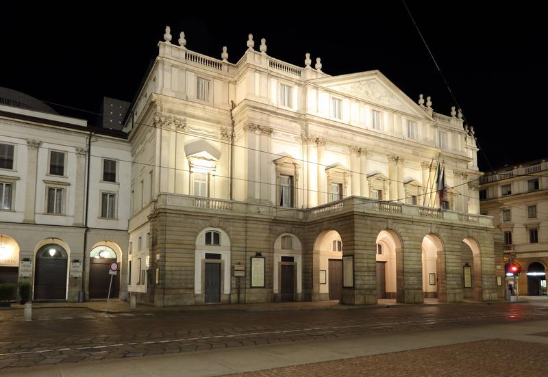 La Scala Opera Theater Milano