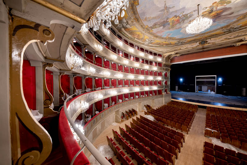 The Donizetti Theater in Bergamo is reopening