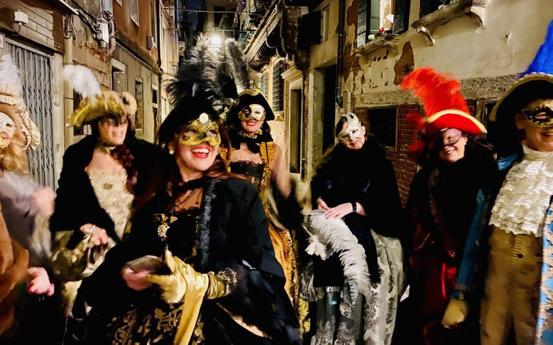 The Venice Carnival in November?